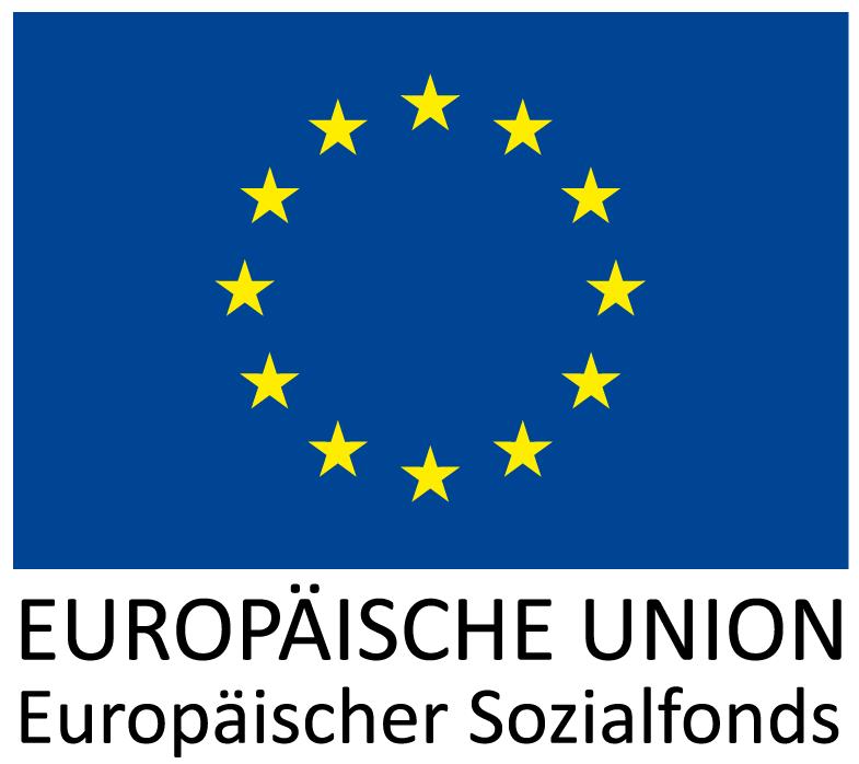 Logo: Europäischer Sozialfond