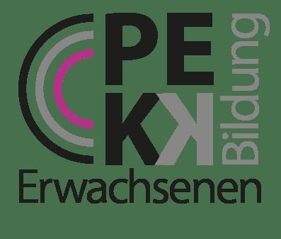 Logo: Plattform Erwachsenenbildung Kärnten/Koroška – PEKK